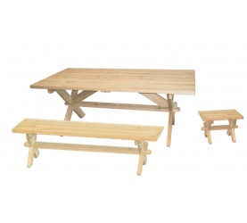 massivholzgarnituren massivholz b nke und garnituren aus holz. Black Bedroom Furniture Sets. Home Design Ideas