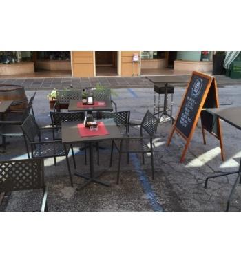 Quadro Strech Terrassenbestuhlung Gastgartenstühle Biergartenstühle